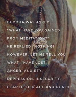 Meditation loss