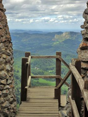 broken tower montsegur