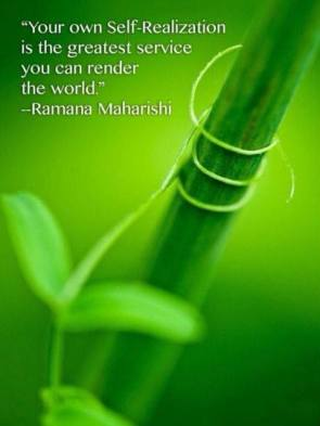 self realization ramana maharishi